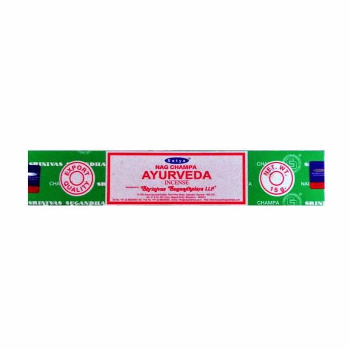 Encens Indien Satya Ayurveda ~ Encens de qualité