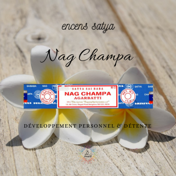 Encens Satya Nag Champa