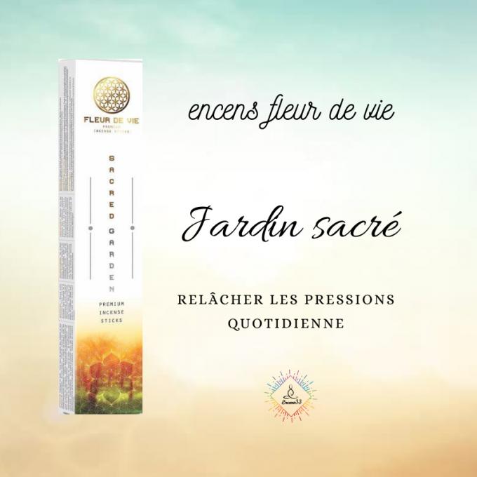 Encens fleur de vie - Sacred Garden - Jardin sacré