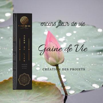 Encens Fleur de Vie - Graine de vie - Seed of Life