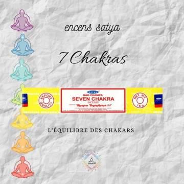 Encens Indien Satya 7 Chakra 15g