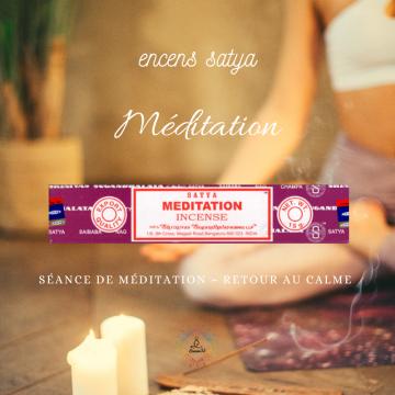 Encens Indien Satya Méditation 15g