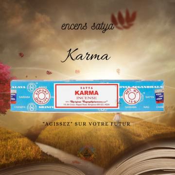 Encens Inde Satya Karma 15g