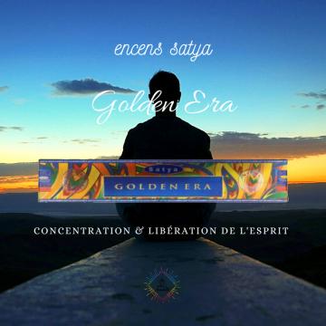 Encens Inde Satya Golden Era 15g