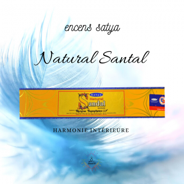 Encens Inde Satya Natural Santal 15g