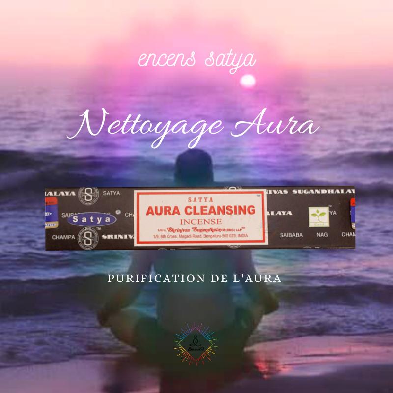 Encens Satya Nettoyage Aura 15g