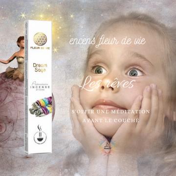 Encens Fleur de Vie Les Rêves - Dream Sage