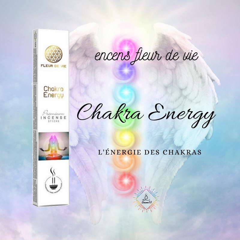 Encens Fleur de Vie l'énergie des chakras - Chakra Energy