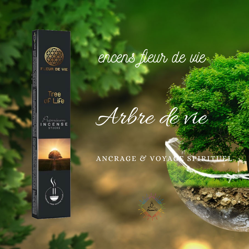 Encens Fleur de Vie Arbre de vie - Tree of Life
