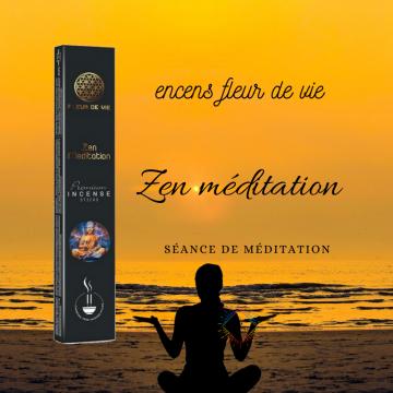 Encens Fleur de Vie Méditation - Zen Méditation