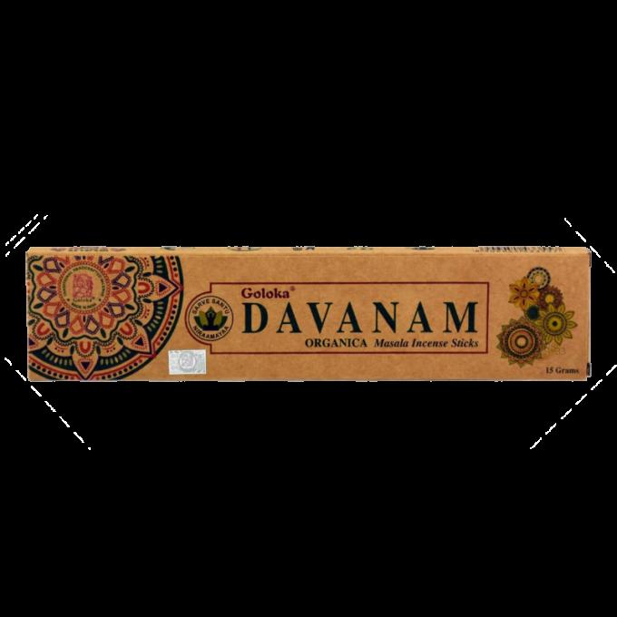 Encens Massala Goloka Davanam 15g