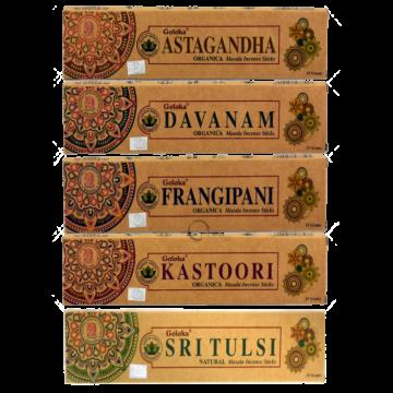 Pack encens Organica Massala Goloka