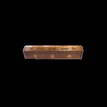 Porte encens boîte pentacle